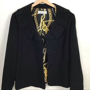 Tahari Black blazer.